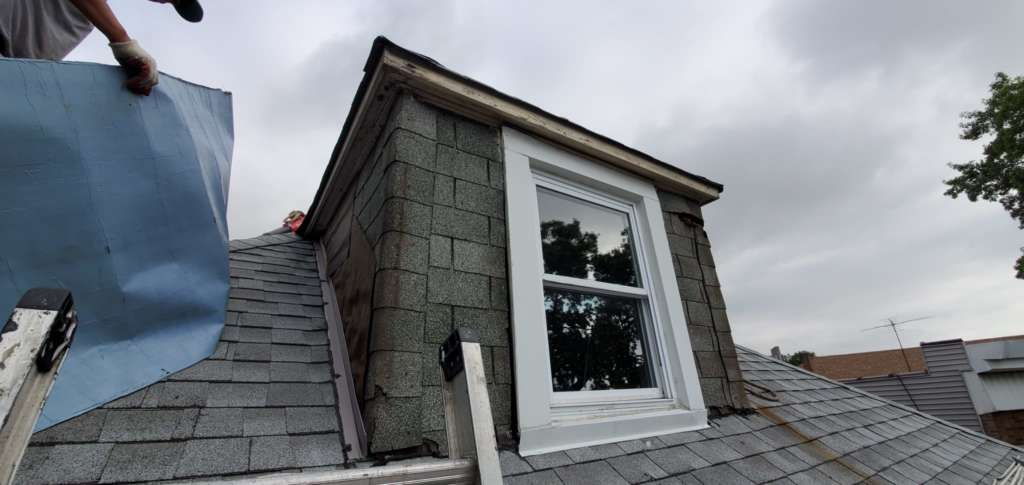 New Skylight Installation and Aluminum Painting Service Project Shot 2
