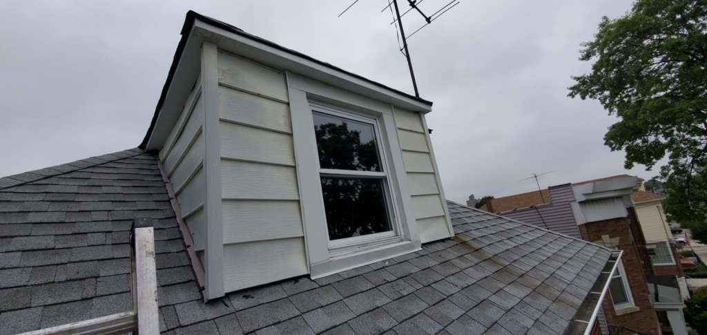 New Skylight Installation and Aluminum Painting Service Project Shot 4