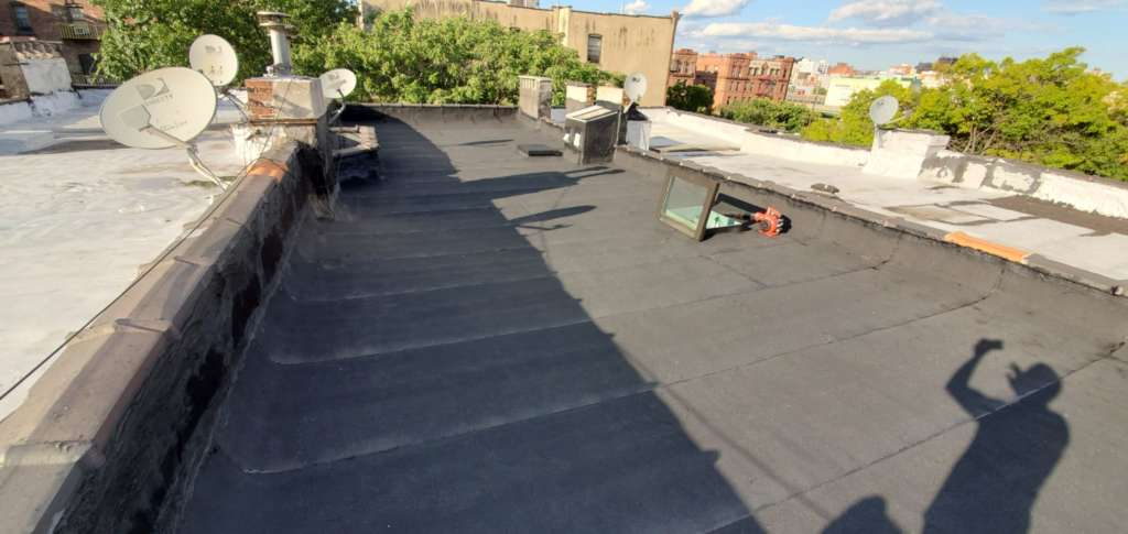 New Skylight Installation and Aluminum Painting Service Project Shot 6