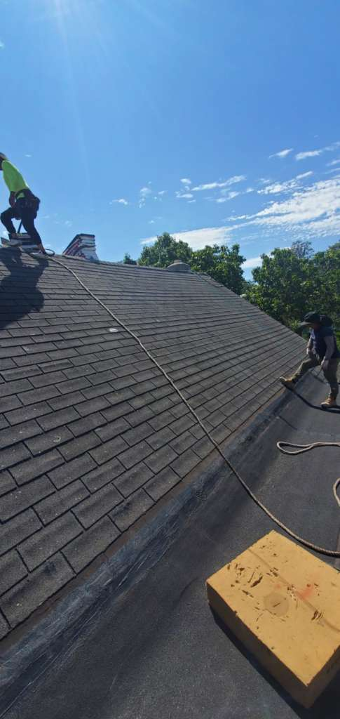 New Shingle Installation and Repair Service the Bronx Project Shot 4