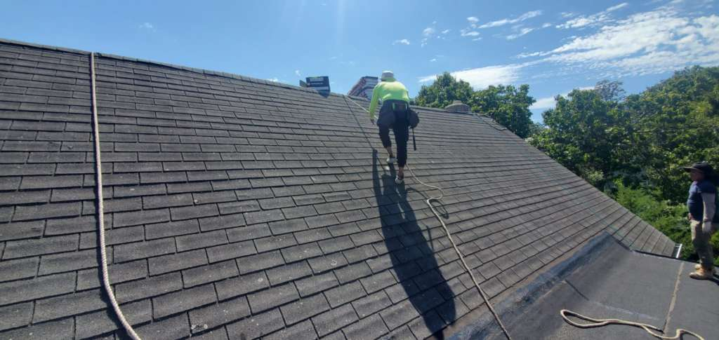 New Shingle Installation and Repair Service the Bronx Project Shot 5