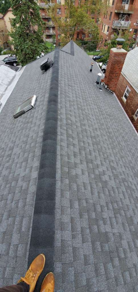New Shingle Roof and Chimney Repair Service Project Shot 1