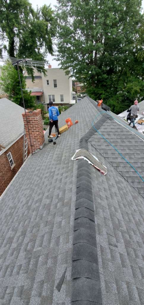 New Shingle Roof and Chimney Repair Service Project Shot 3