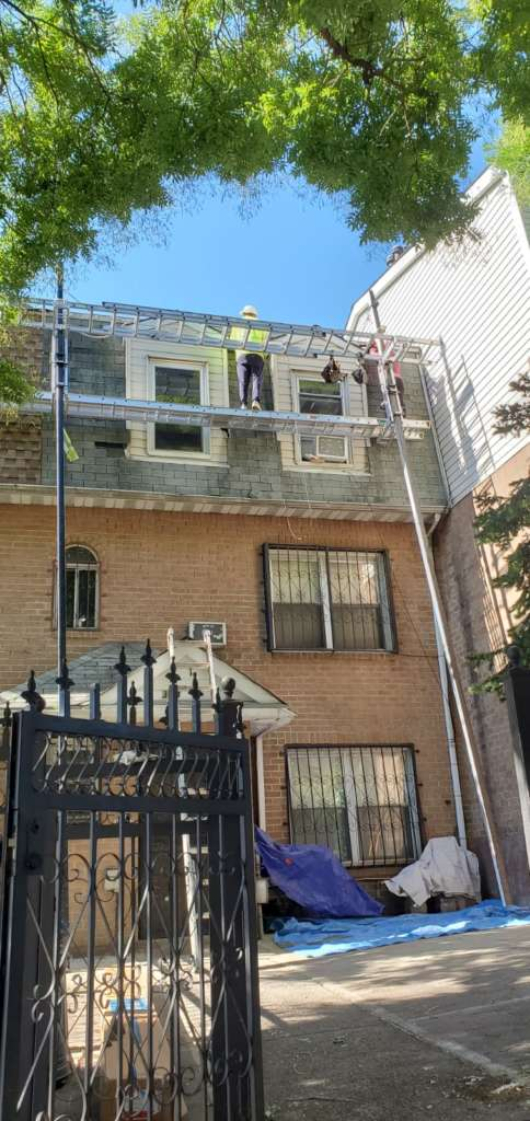 Siding and Roof Installation Service in the Bronx Project Shot 2