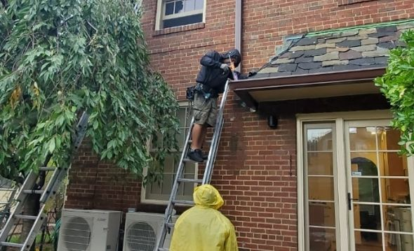 Gutter Replacement Service in Astroria Project Shot